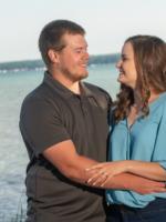 Alli and Cody's Engagement Shoot Higgins Lake