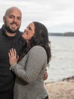 Caitlin and Dan Engagement Shoot Cut River/ Higgins LK