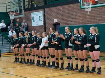 Houghton Lake Varsity Volleyball Regional Championship